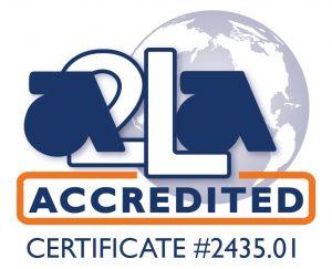A2LA accredited symbol.2435.01-01